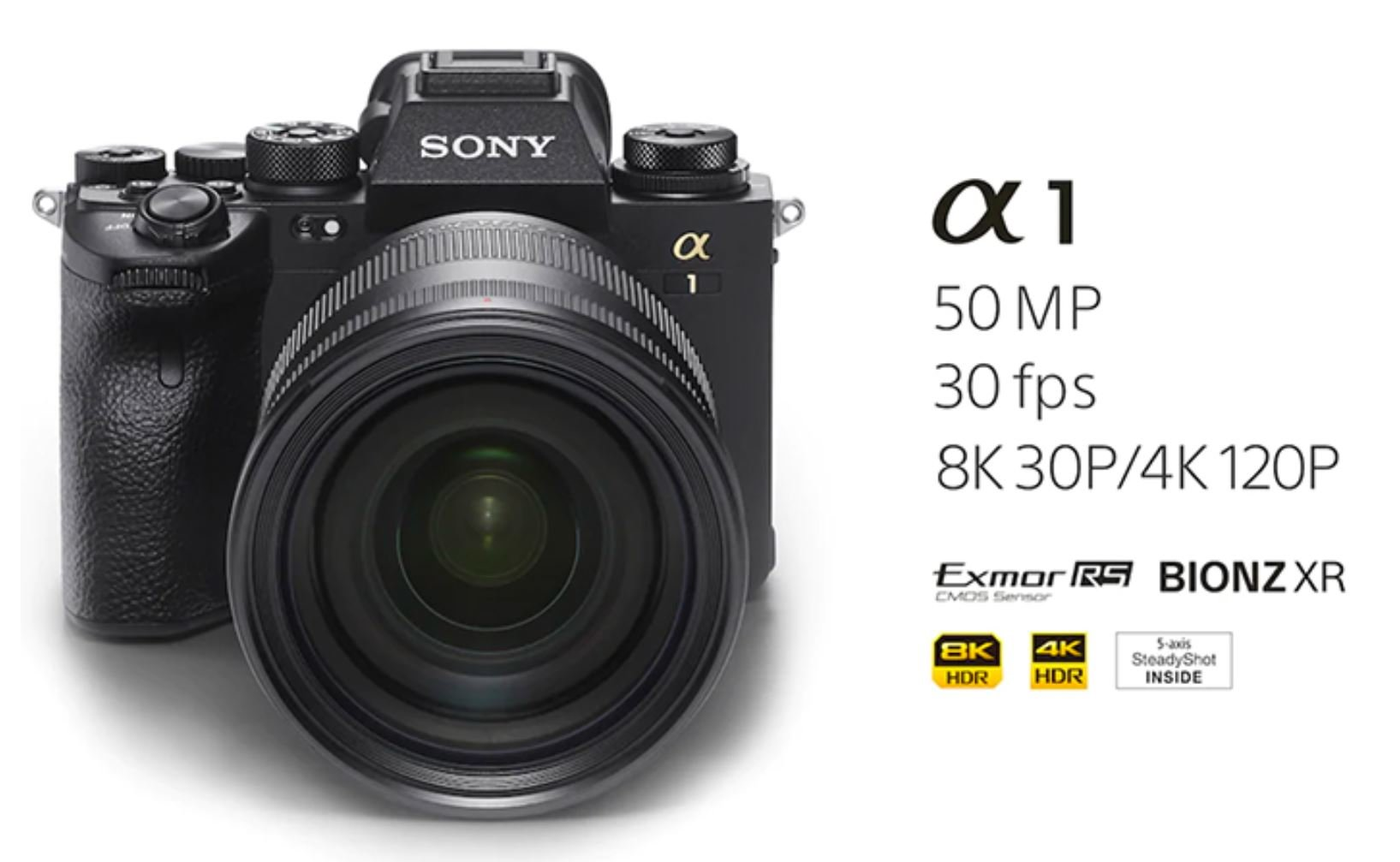 The new Sony Alpha 1